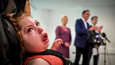 Hopes are high cannabis product will ease five-year-old Gemma's constant seizures.