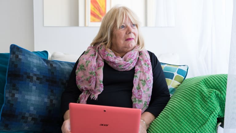 """Pam Cassidy, an Elan resident, says she will resist all attempts to force her onto the """"inferior"""" NBN."""