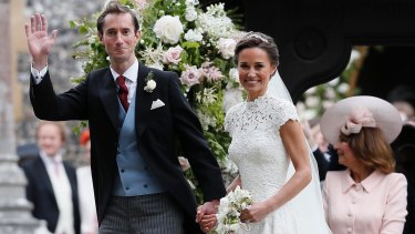 Pippa Middleton and James Matthews, who married this month, have arrived in Australia.