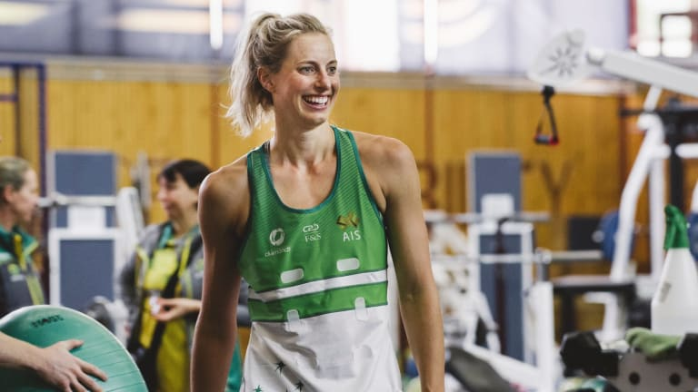 Laura Geitz will play in her third Commonwealth Games despite not playing international netball since 2015.