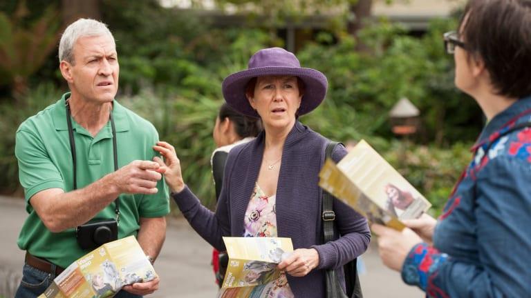 Debra Lawrance as Rose in Please Like Me.