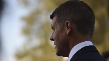 Admitted his office called UBS: Premier Mike Baird.