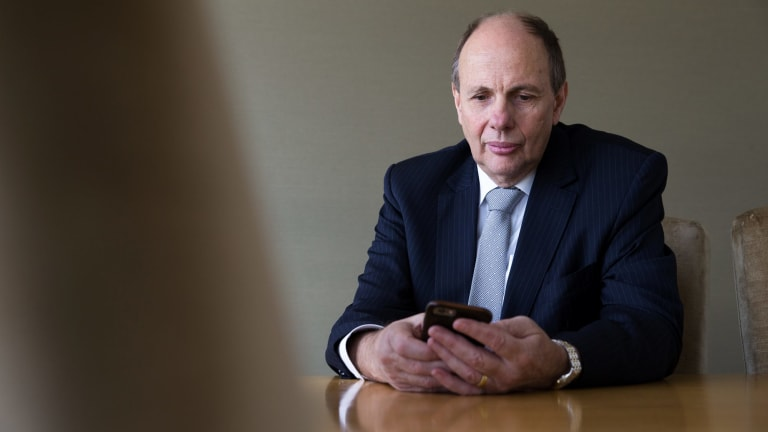 Origin Energy former chief executive and current president of the Business Council of Australia Grant King.