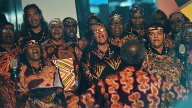 The Central Australian Aboriginal Women's Choir spans five Aboriginal communities and sings in six languages.