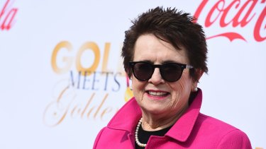 Tennis great Billie Jean King will attend the Golden Globes with Emma Stone, who portrayed her in 'Battle of the Sexes'.