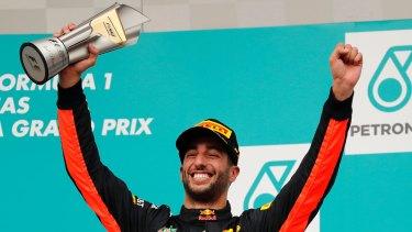 Daniel Ricciardo is adamant that he will be at Red Bull in 2018