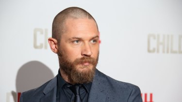 Tom Hardy at the British premiere of <i>Child 44</i> at Vue West End in London last month.