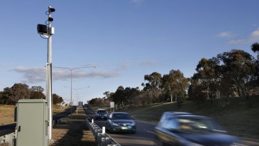 The trial found 90 per cent of those speeding were exceeding the limit by between one and nine kilometres, while around 10 per cent were exceeding 120 kilometres an hour.