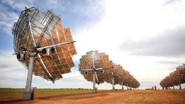 Plans to expand the Mildura Solar Power Demonstration Facility were axed in 2014.