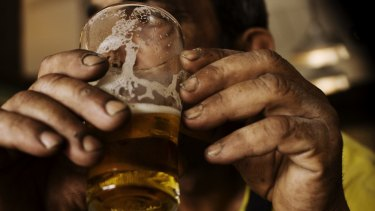 A fifth of Australian drinkers consume three-quarters of the nation's grog.