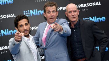 Returning: <i>House Husbands</i> (from left) Firass Dirani, Rhys Muldoon and Gary Sweet.