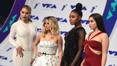 Dinah Jane, from left, Ally Brooke, Normani Kordei, and Lauren Jauregui of Fifth Harmony.