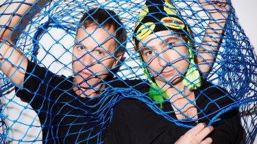 Net prophets: The Presets are singer/keyboardist Julian Hamilton and drummer/beatmaker Kim Moyes.