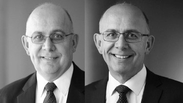 Lawyer Alfonso del Rio's headshots, before and after he lost 30 kilograms during a 12-month period.