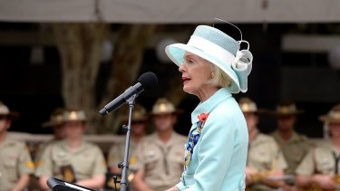 Dame Quentin Bryce, who became Australia's first woman governor-general at 65.