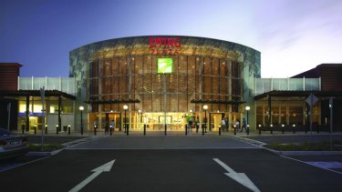 The entrance to the Pacific Epping shopping centre in Melbourne.
