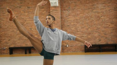 A still from the documentary Danseur. Producer-director Scott Gormley is taking the film on a world tour.