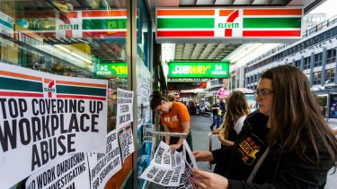 7-Eleven has so far paid back $83 million in compensation to workers.