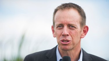 Territory and Municipal Services Minister Shane Rattenbury.