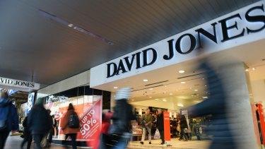 David Jones food halls are set to get a makeover.