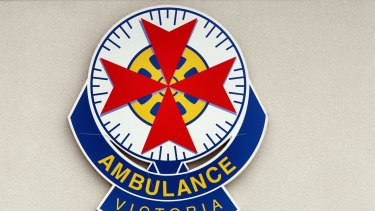 Emergency crew are on the scene after a vehicle crashed into a tree, injuring two on Saturday night at Heywood.