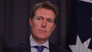 Election threat: 36.4 per cent of voters said they would be less likely to vote for Social Services Minister Christian Porter if the issue wasn't dealt with.