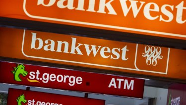 Bankwest will shut its corporate banking services on the east coast.