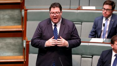 Nationals MP George Christensen has defended attending a Q Society event.