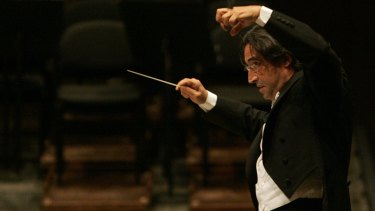 Italian conductor Riccardo Muti is a famous disciplinarian but also has a wicked sense of humour.