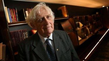 Historian Geoffrey Blainey.