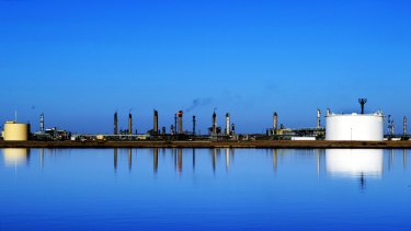 The Santos-owned Moomba Petroleum and natural gas plant in the Cooper Basin, South Australia