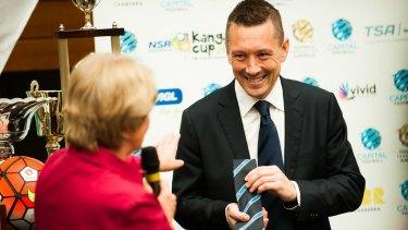 Capital Football chief Phil Brown. The Canberra Times Photo: Elesa Kurtz