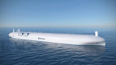 A concept for a remote controlled ship by Rolls-Royce.