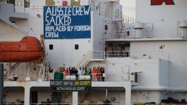 Alexander Spirit tanker stand-off as seafarer jobs go overseas