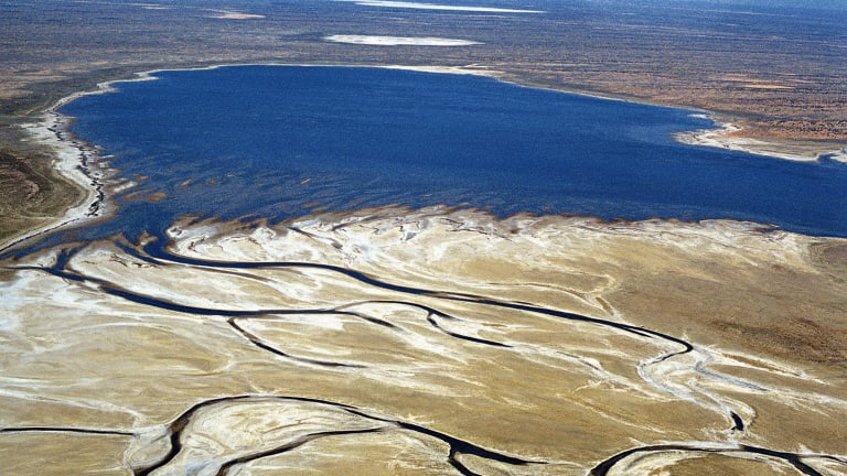 Geologists predict Lake Eyre will not exist in 30 million years.