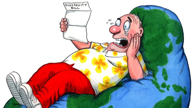 A mug's game: You can ask your power provider for discounts, but it's finding the best deal where the pursuit of cheaper power becomes complicated. Illustration: John Shakespeare.