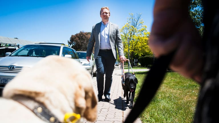 Regional manager of Guide Dogs ACT/NSW Patrick Shaddock says unleashed dogs pose a significant threat to people with blindness or vision-impairment.