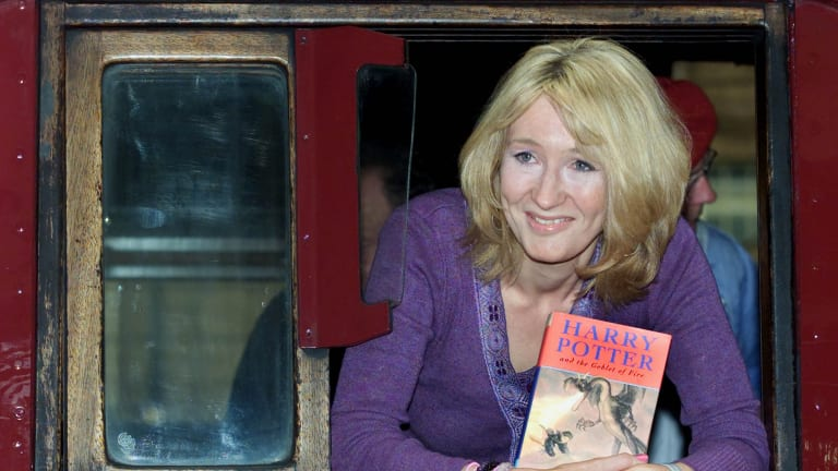 The Harry Potter comparison is oft-used, but Townsend has publisher Hachette very excited.