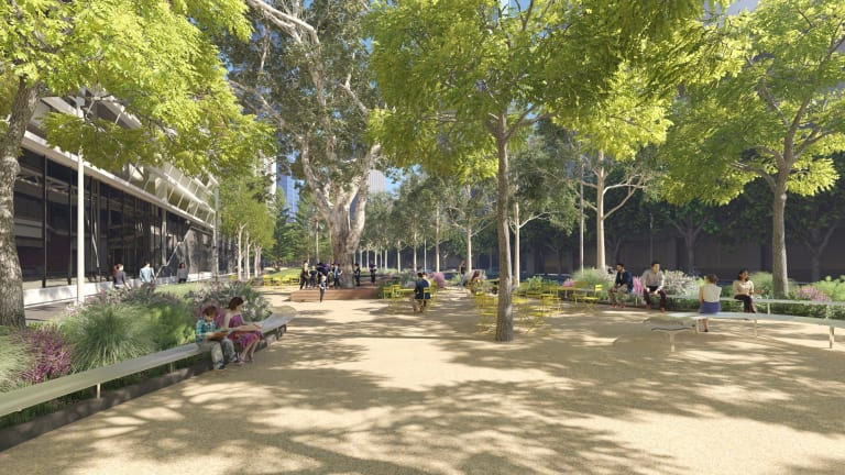 An artist's impression of the transformed Southbank Boulevard.