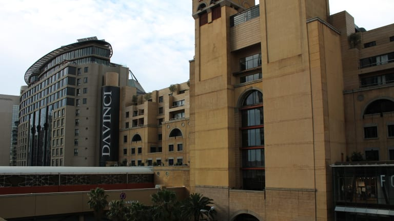 The Raphael Penthouses where Mr Starkey's body was discovered.