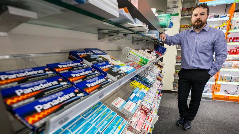 Melbourne pharmacist Jarrod McMaugh.