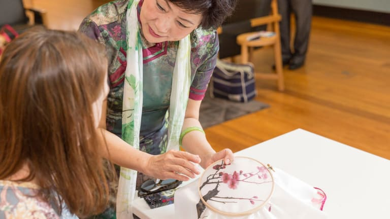 Wang Xin,the Vice President of the Australia Chine Friendship Society, is one of the students.