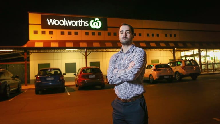 Former Woolworths employee Darcy Richardson resigned this year after finding his wage no longer covered his weekly bills.