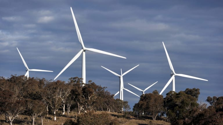 Wind turbines failed to step up when South Australia's energy lifeline to Victoria went down last Thursday morning