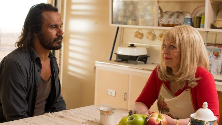 Director Ivan Sen delivers plenty of close-ups of his characters in <i>Goldstone</I>.