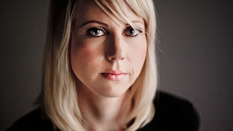 Jessikka Aro, a Finnish journalist who's been the subject of a sustained attack by Russian propaganda trolls ever since she started investigating them.