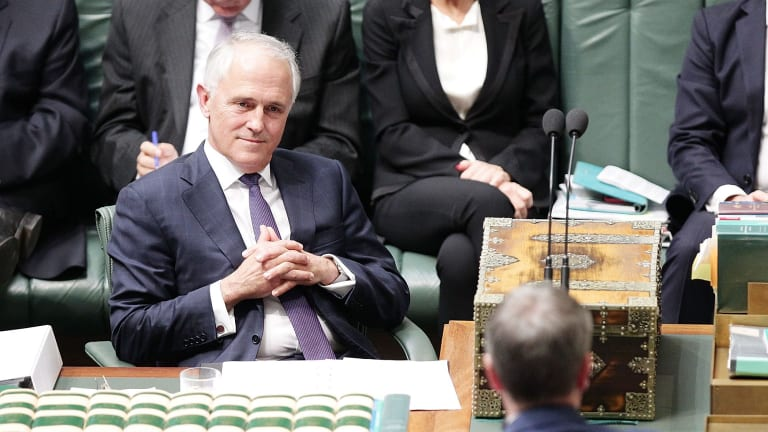 Dangerous lefty? Malcolm Turnbull's office won't reveal his spelling preferences.