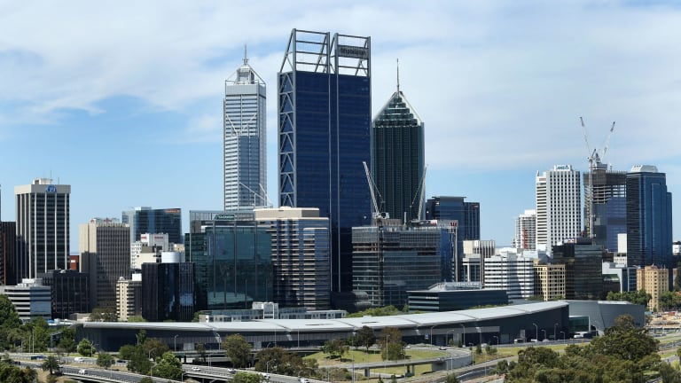 Perth's CBD is bigger - but there's less workers taking up space.
