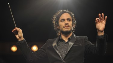 Gael Garcia Bernal in <i>Mozart in the Jungle</i>. Seasons 1 and 2 of the show, previously only available on Stan, are now on Amazon Prime Video.
