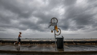 Victoria's environmental watchdog has been accused of prioritising dumped oBikes over addressing climate change.